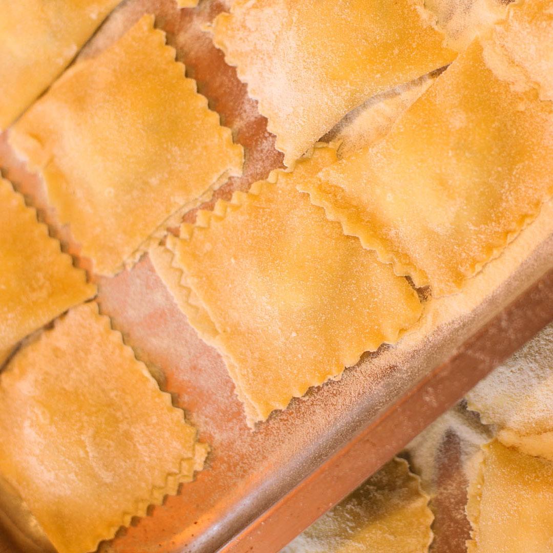 Homemade Pasta & Seasonal Sweets